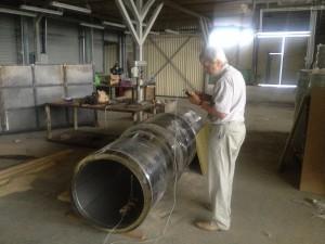 Измерение шума в трубе