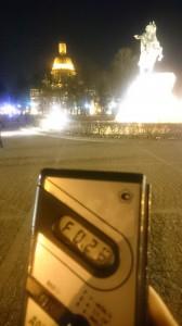 Радиация в Санкт-Петербурге у медного всадника