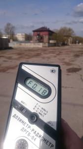 Измерение радиации в Великом Новгороде