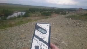 Радиация недалеко от реки Теча в окрестностях села Муслюмово в Челябинской области